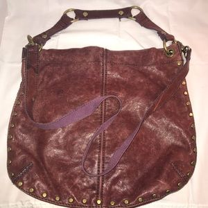 Fossil long live vintage leather hobo bag